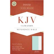 KJV Ultrathin Reference Bible, Mint Green LeatherTouch by Holman Bible Staff, 9781433617409