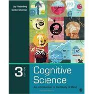 Cognitive Science by Friedenberg, Jay; Silverman, Gordon, 9781483347417