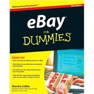 eBay For Dummies<sup>&#174;</sup>, 6th Edition by Marsha Collier (Los Angeles, CA, Author ), 9780470497418