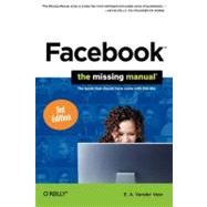 Facebook: The Missing Manual by Vander Veer, E. A., 9781449397418