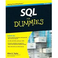 SQL For Dummies by Taylor, Allen G., 9780470557419