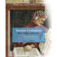 Western Civilization Vol. 1 : Ideas, Politics, and Society 1789 by Perry,Marvin, 9780547147420