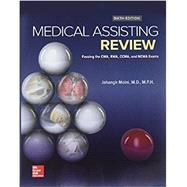 GEN COMBO MEDICAL ASSISTING REVIEW: PASSING CMA RMA CCMA; CONNECT ACCESS CARD by Moini, Jahangir, 9781260037432