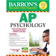 Barron's Ap Psychology by McEntarffer, Robert, Ph.D.; Weseley, Allyson J., 9781438007434