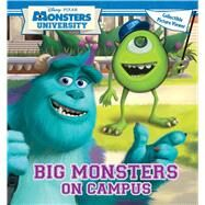 Disney Pixar Monsters University Big Monsters On Campus Book with Picture Viewer by Disney•Pixar, 9780794427436