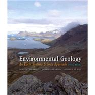 Environmental Geology An Earth Systems Approach by Merritts, Dorothy; Menking, Kirsten; DeWet, Andrew, 9781429237437