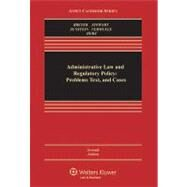 Administrative Law and Regulatory Policy Problems Text, and Cases by Breyer, Stephen G.; Stewart, Richard B.; Sunstein, Cass R.; Vermeule, Adrian, 9780735587441