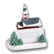 Scripture Keeper® Snowy Church by Unknown, 9780310987444