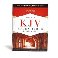 KJV Study Bible Large Print Edition, Hardcover by Unknown, 9781433607448