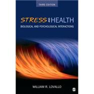 Stress and Health by Lovallo, William R., 9781483347448