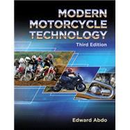 Modern Motorcycle Technology by Abdo, Edward, 9781305497450