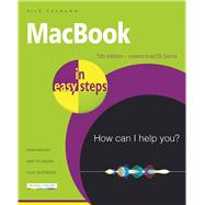MacBook in easy steps Covers macOS Sierra by Vandome, Nick, 9781840787450