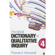 The Sage Dictionary of Qualitative Inquiry by Schwandt, Thomas A., 9781452217451