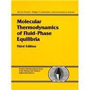 Molecular Thermodynamics of Fluid-Phase Equilibria by Prausnitz, John M.; Lichtenthaler, Rudiger N.; de Azevedo, Edmundo Gomes, 9780139777455