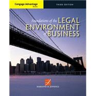 Cengage Advantage Books: Foundations of the Legal Environment of Business by Jennings, Marianne M., 9781305117457