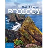 Ecology Evolution, Application, Integration by Krohne, David T., 9780199757459