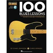 100 Blues Lessons by Hal Leonard Corp., 9781480397460