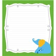 Parade of Elephants Notepad by Carson-Dellosa Publishing Company, Inc., 9781483817460