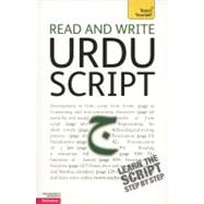 Read and Write Urdu Script: A Teach Yourself Guide by Delacy, Richard, 9780071747462
