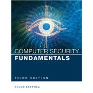 Computer Security Fundamentals by Easttom, William (Chuck), II, 9780789757463