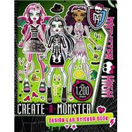 Monster High: Create-A-Monster Design Lab Sticker Book by Mayer, Kirsten, 9780316337465