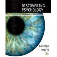 Bundle: Discovering Psychology, Science of Mind - 2nd Edition by Cacioppo; Freberg, 9781305707467