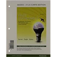 Finite Mathematics for Business, Economics, Life Sciences and Social Sciences, Books a la Carte Plus MyLab Math with Pearson eText -- Access Card Package by Barnett, Raymond A.; Ziegler, Michael R.; Byleen, Karl E., 9780321947468