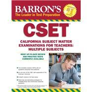 Barron's CSET by Postman, Robert D., 9781438007472