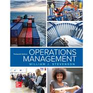Operations Management by Stevenson, William J, 9781259667473