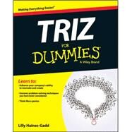 Triz for Dummies by Haines-gadd, Lilly, 9781119107477