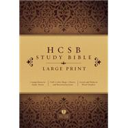 HCSB Large Print Study Bible, Hardcover by Unknown, 9781433607479