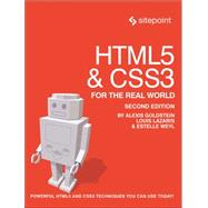 Html5 & Css3 for the Real World by Goldstein, Alexis; Lazaris, Louis; Weyl, Estelle, 9780987467485