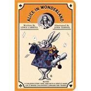 Alice in Wonderland Stitch Pocket Lined Notebook by 7321 Design, 9781223117485