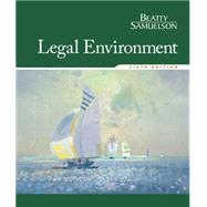 Legal Environment by Beatty, Jeffrey F.; Samuelson, Susan S., 9781305507487