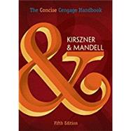 The Concise Cengage Handbook (with 2016 MLA Update Card) by Kirszner, Laurie G.; Mandell, Stephen R., 9781337287487