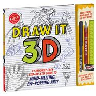 Draw It 3D by Klutz, 9781338037487