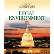 Legal Environment by Beatty, Jeffrey F.; Samuelson, Susan S., 9781133587491