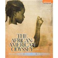 The African-American Odyssey: Volume 2 by HINE & HINE, 9780205947492