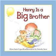 Henry Is a Big Brother by Capucilli, Alyssa Satin; Stott, Dorothy, 9780764167492