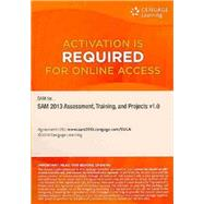 SAM 2013 Assessment, Training, and Projects V1. 0 Printed Access Card by SAM, 9781285427492