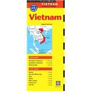 Periplus Travel Maps Vietnam by Periplus Editions, 9780794607494