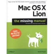 Mac OS X Lion : The Missing Manual by Pogue, David, 9781449397494