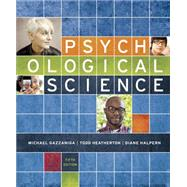 Psychological Science by Gazzaniga, Michael; Heatherton, Todd; Halpern, Diane, 9780393937497