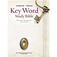 Hebrew-Greek Key Word Study Bible: New American Standard Bible, Wider Margins by Zodhiates, Spiros, 9780899577500