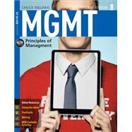 MGMT8 (with CourseMate, 1 term (6 months) Bound in code) by Williams, Chuck, 9781285867502