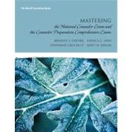 Mastering the National Counselor Exam and the Counselor Preparation Comprehensive Exam by Erford, Bradley T.; Hays, Danica G.; Crockett, Stephanie; Miller, Emily M., 9780137017508