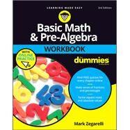 Basic Math & Pre-Algebra by Zegarelli, Mark, 9781119357513