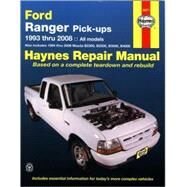 Haynes Repair Manual Ford Ranger Pick-ups, 1993 Thru 2008 by Jorgensen, Eric, 9781563927515