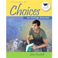 Choices for College Success by Piscitelli, Steve, 9780137007516