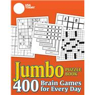 USA TODAY Jumbo Puzzle Book 400 Brain Games for Every Day by USA TODAY, 9780740777516